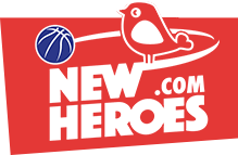 New Heroes Basketball Logo