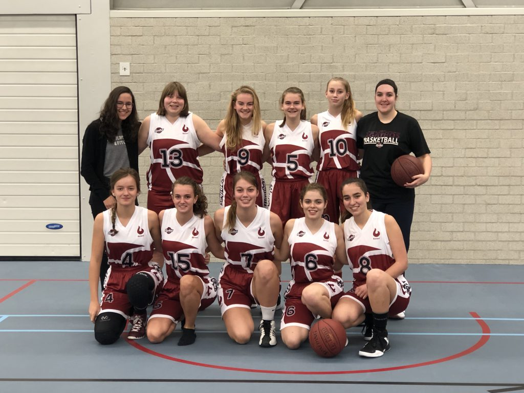 Teamfoto Vrouwen U18
